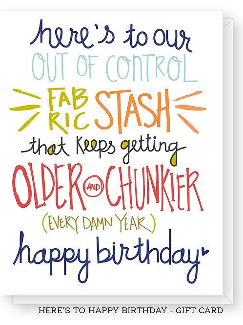 Here's to Happy Birthday