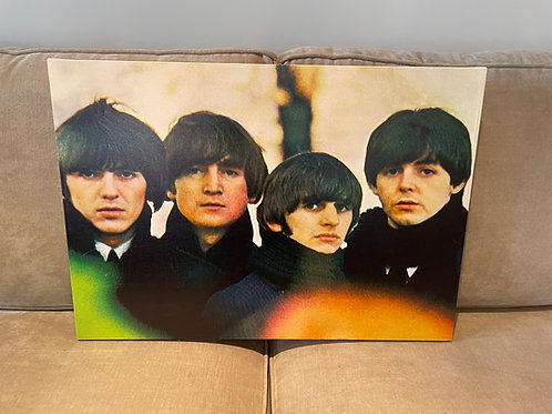Lot 67 - Beatles Canvas Art