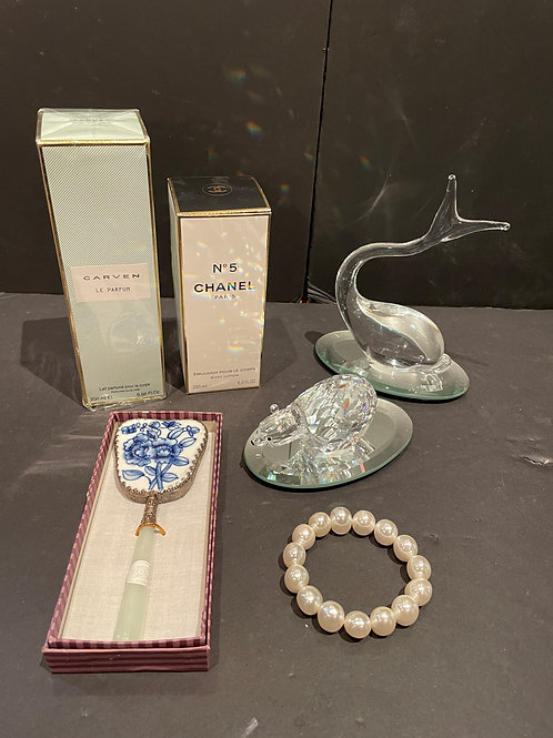 Lot 115 - Signed/Numbered  Glass Dolphin, etc...