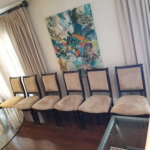 Lot 55 Set of 6 Chairs