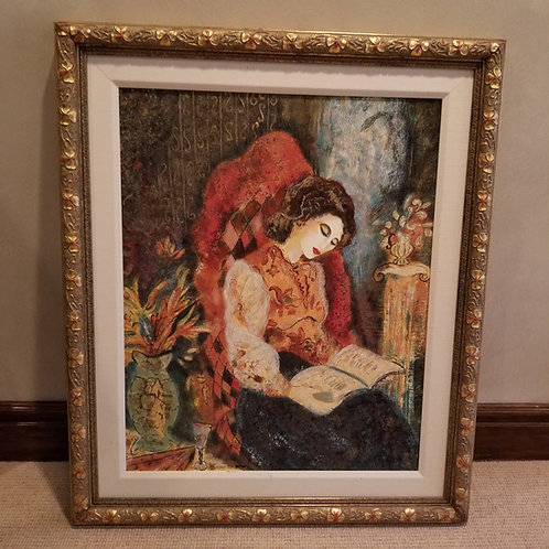 Lot 57 'The Letter' - Serigraph