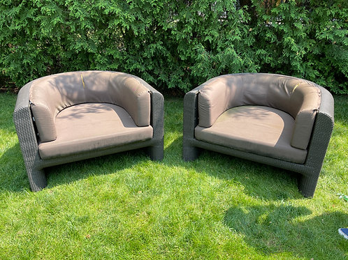 Lot 40 - Outdoor Chairs (Pair)