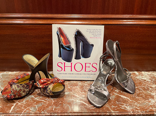 Lot 61 - Shoes & Coffee Table Book