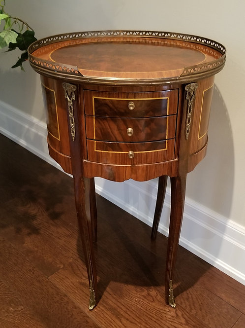 Lot 7 Oval Side Table