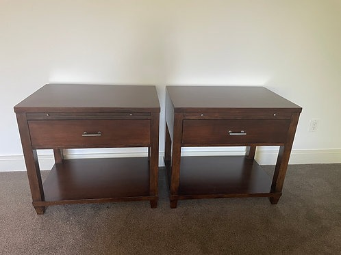 Lot 88 - Mitchell Gold Side Tables