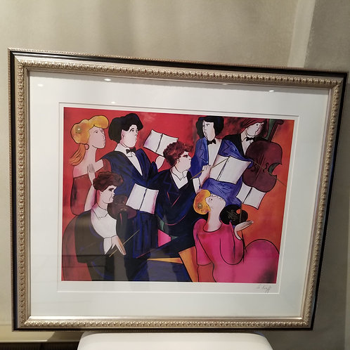 Lot 64 'The Orchestra' - Lithograph