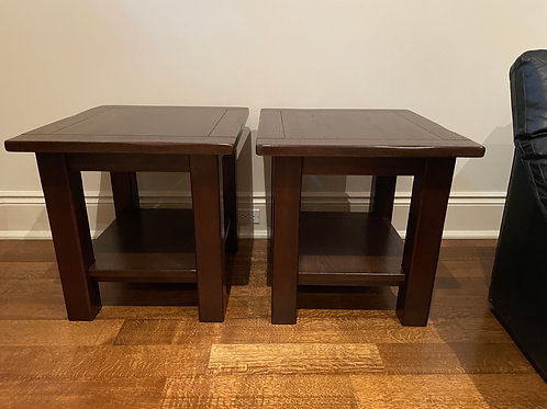 Lot 10 - Pair of End Tables