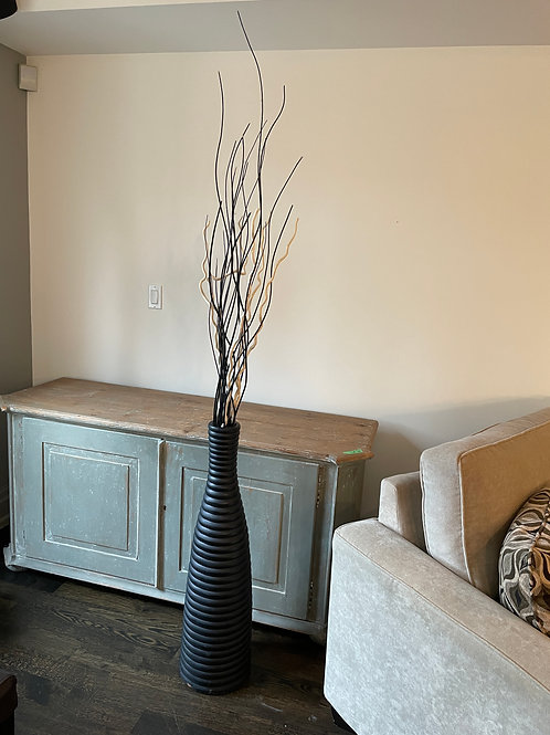 Lot 46 - Tall Vase with Branches