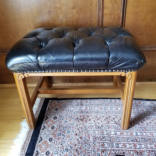 Lot 27 - Leather Stool