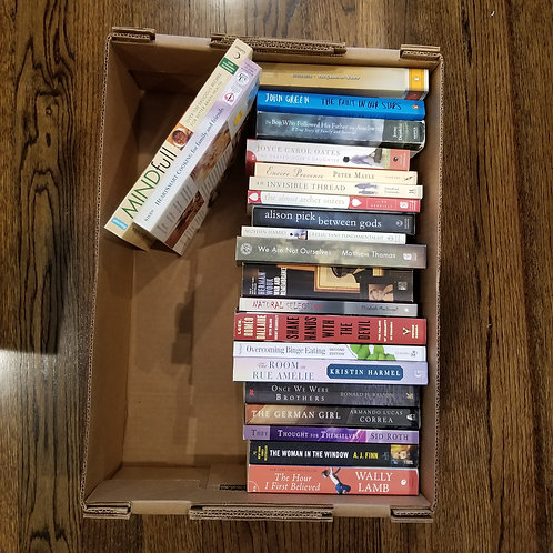 Lot 77 2 Boxes of Books