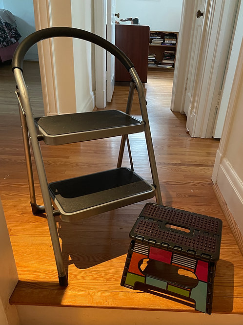 Lot 118 - Two Step Stools