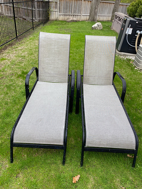 Lot 60 - Pair of Lounge Chairs (B)
