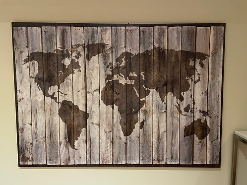 Lot 57 World Map Art