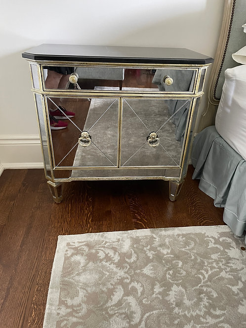 Lot 34 - Mirrored Chest (A)