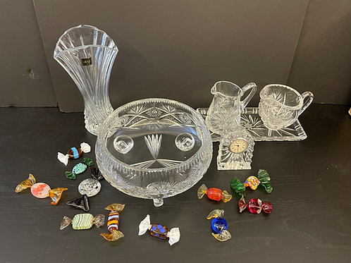 Lot 68 - Assorted Crystal and Murano