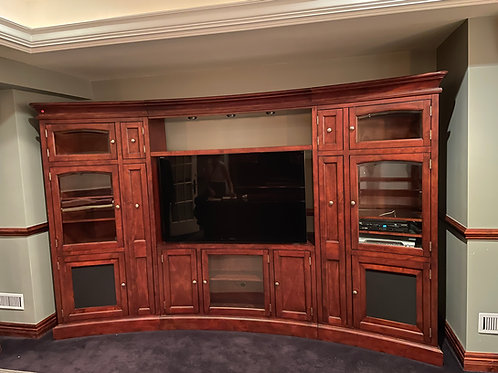 Lot 147 - Curved Wall Unit