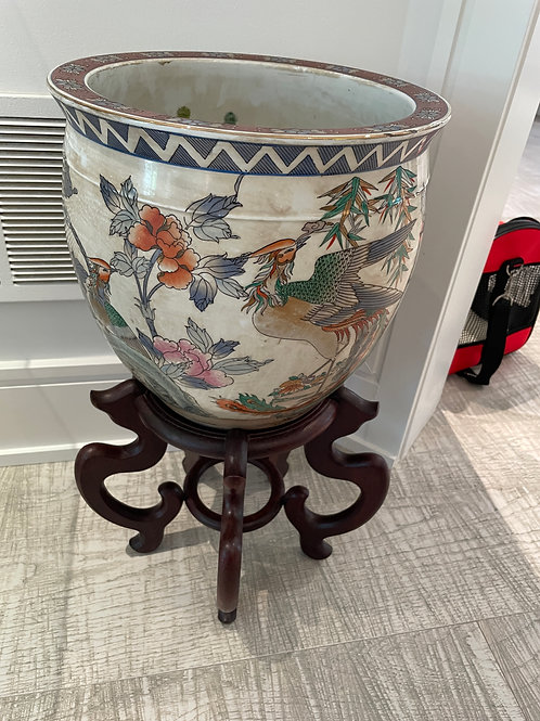 Lot 104 - Flower Pot on Stand