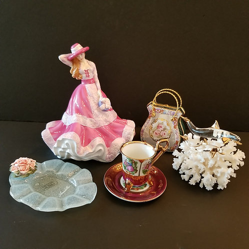 """Lot 22 Royal Doulton """"Just for You'"""