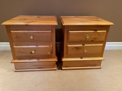 Lot 35 - Pair of Pine Side Tables