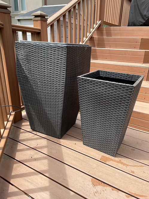 Lot 42 - Two Outdoor Planters