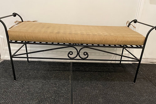 Lot 35 - Wrought Iron Bench