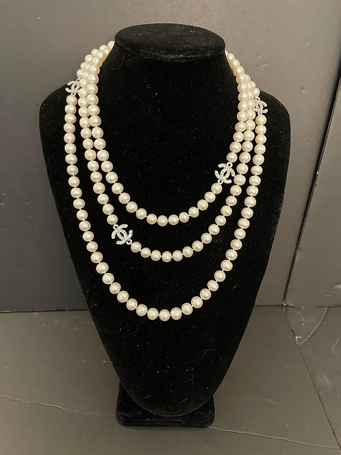 Lot 48 - Authentic Water Pearl Necklace