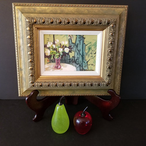 Lot 87 - Small Oil Painting, etc...