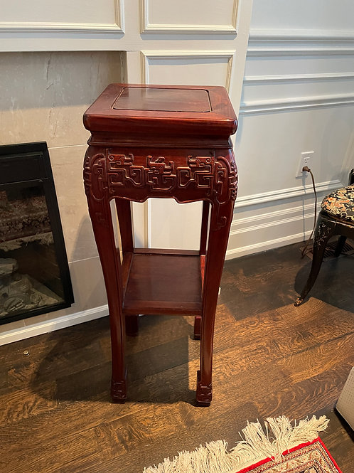 Lot 9 - Rosewood Plant Stand