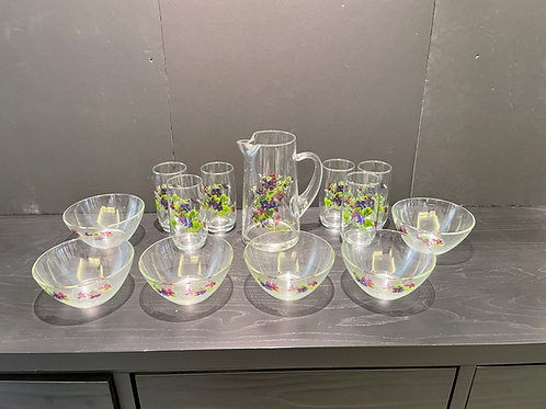 Lot 16 - Glass Set Made in France