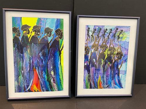 Lot 42 - Pair of Signed Prints