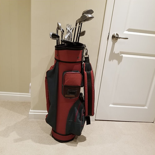 Lot 79 Golf Bag and Clubs