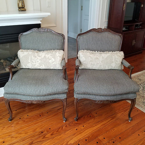 Lot 75 Pair of Bergere Chairs