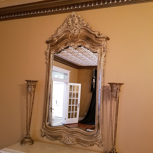 Lot 1   Majestic Large Gold Mirror