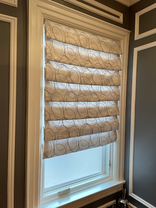 Lot 38 - Pleated blinds