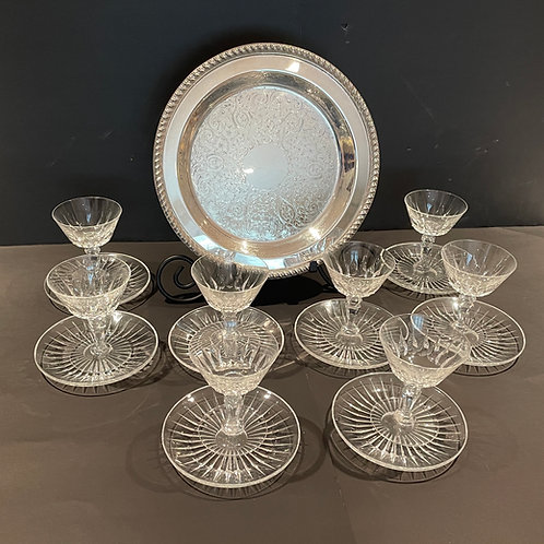 Lot 62 - Silver Plate Tray, etc...