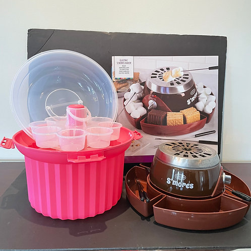 Lot 29 Electric S'mores Maker, etc...