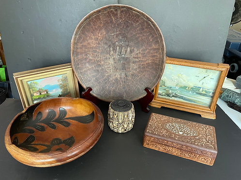 Lot 72 - Assorted Wood Items