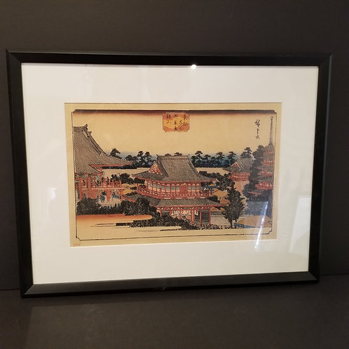 Lot 29 Framed Pagoda Picture