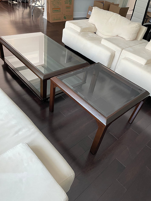 Lot 24 - Coffee and End Table