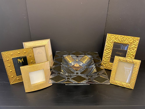 Lot 67 - Glass Bowl with Frames
