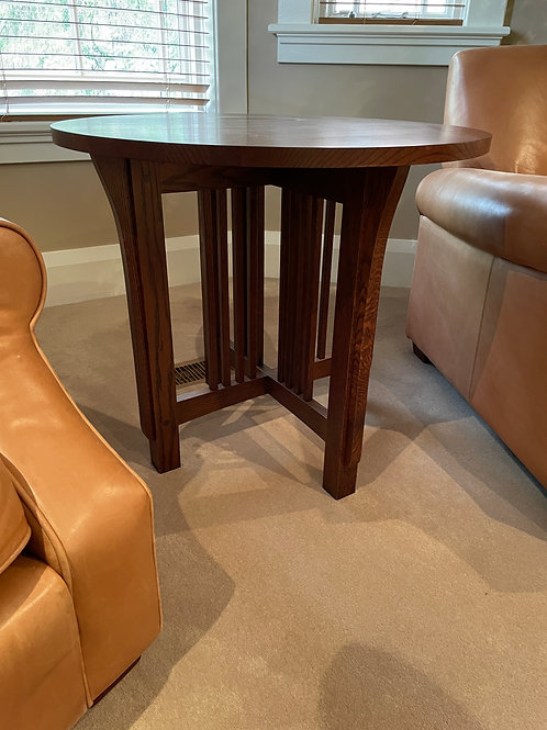 Lot 8 - Stickley Side Table