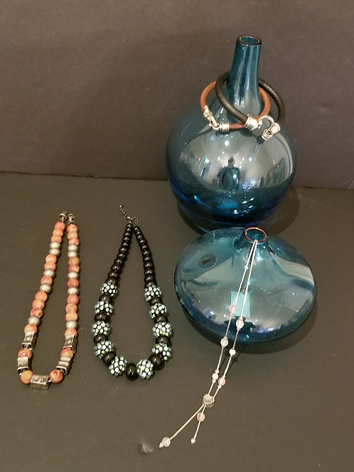 Lot 69 Murano Necklace, etc...
