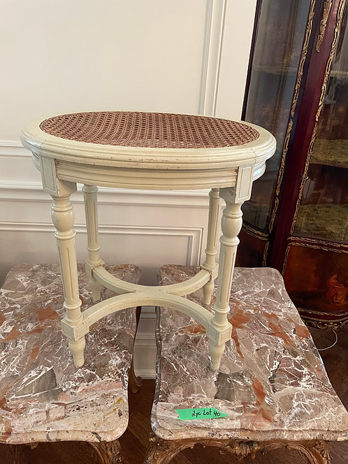 Lot 41 - French Side Table