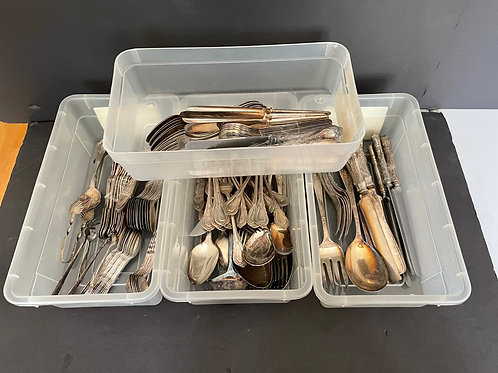 Lot 62 - Assorted Silver Plate Cutlery