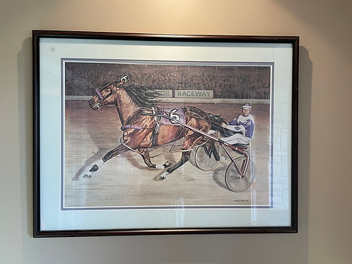Lot 159 - Horse & Sulky - Signed