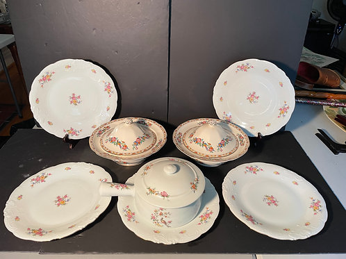 Lot 108 - Pair of Casserole Dishes, etc...