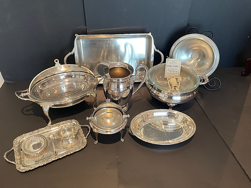 Lot 3 - Assorted Silver-Plate