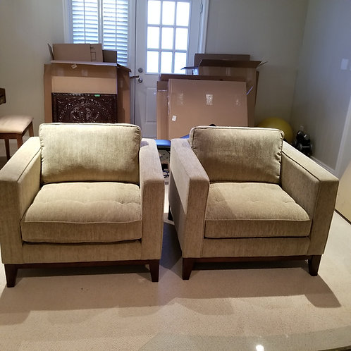 Lot 67 Pair of Arm Chairs