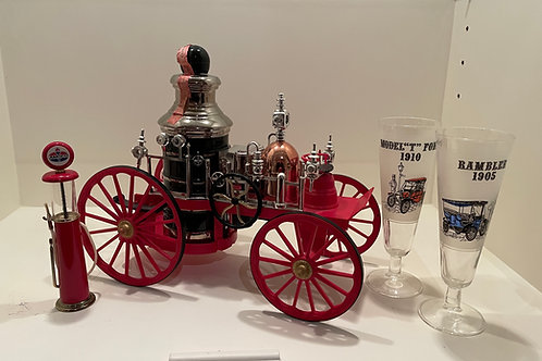 Lot 124 - Fire Engine Decanter