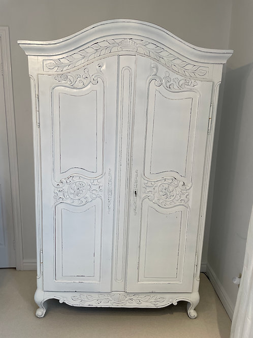 Lot 18 - Country French Armoire